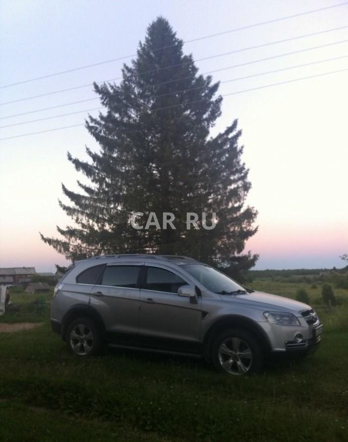 Chevrolet Captiva, Архангельск