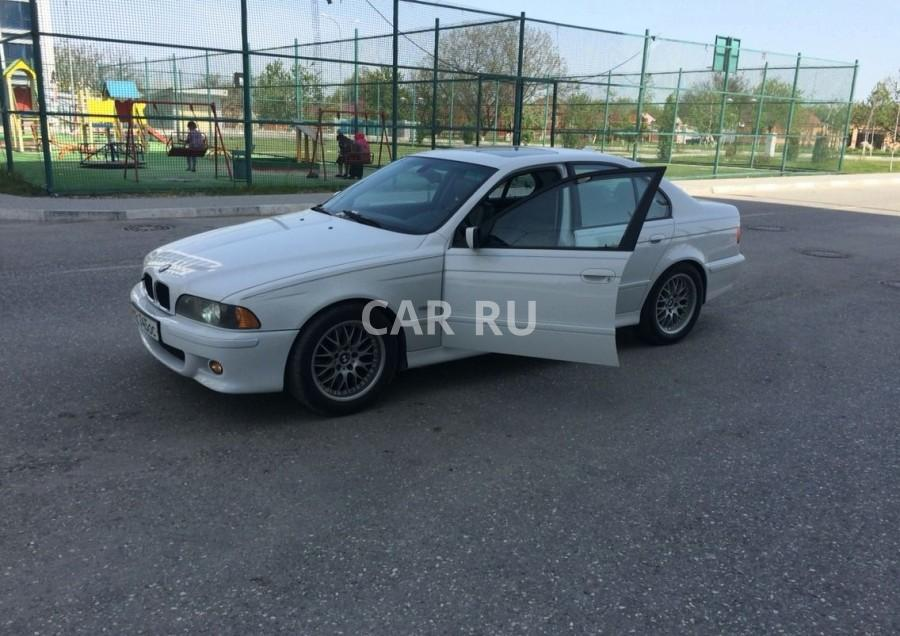 BMW 5-series, Аргун