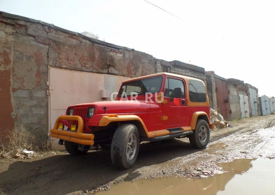 Jeep Wrangler, Астрахань