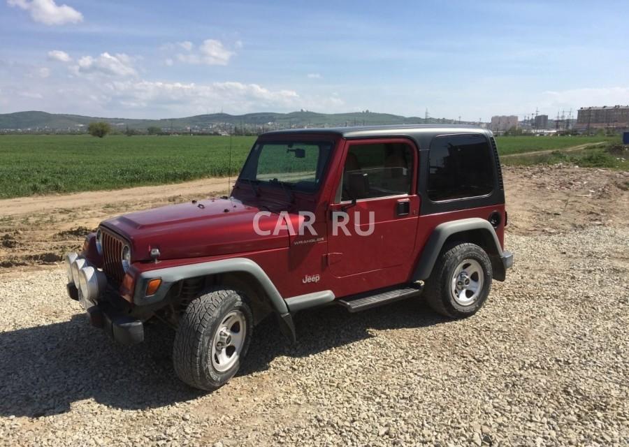 Jeep Wrangler, Анапа