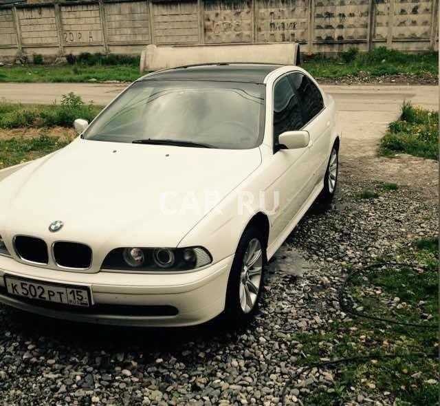 BMW 5-series, Алагир