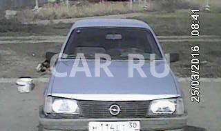 Opel Ascona, Астрахань