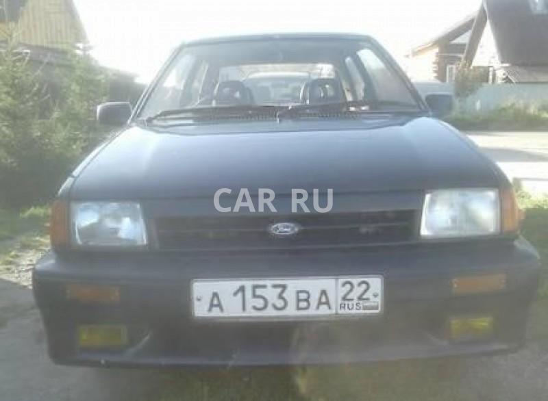 Ford Festiva, Барнаул