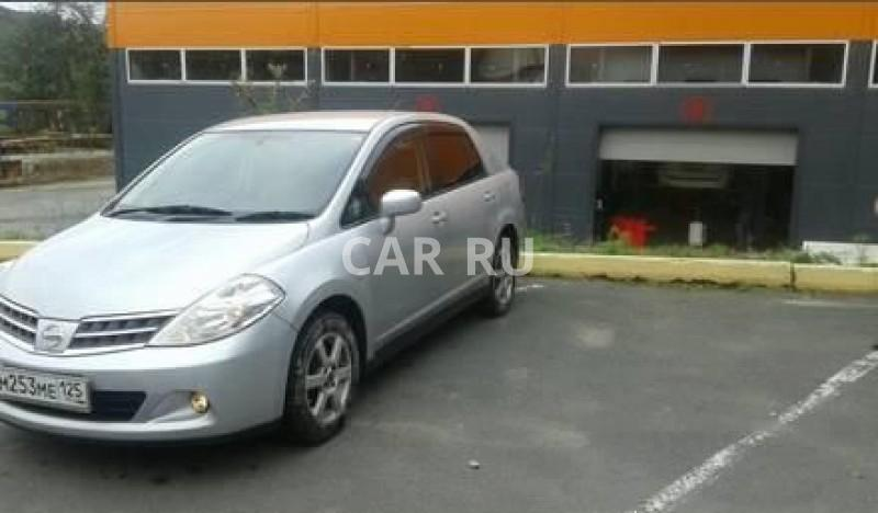 Nissan Tiida Latio, Владивосток