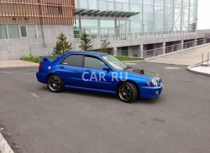 Subaru Impreza WRX STI, Владивосток