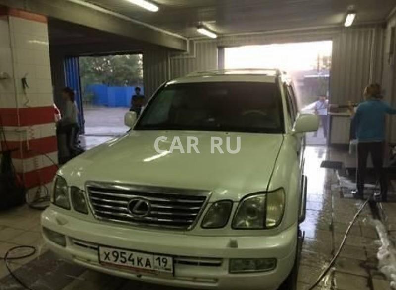Lexus LX, Абакан