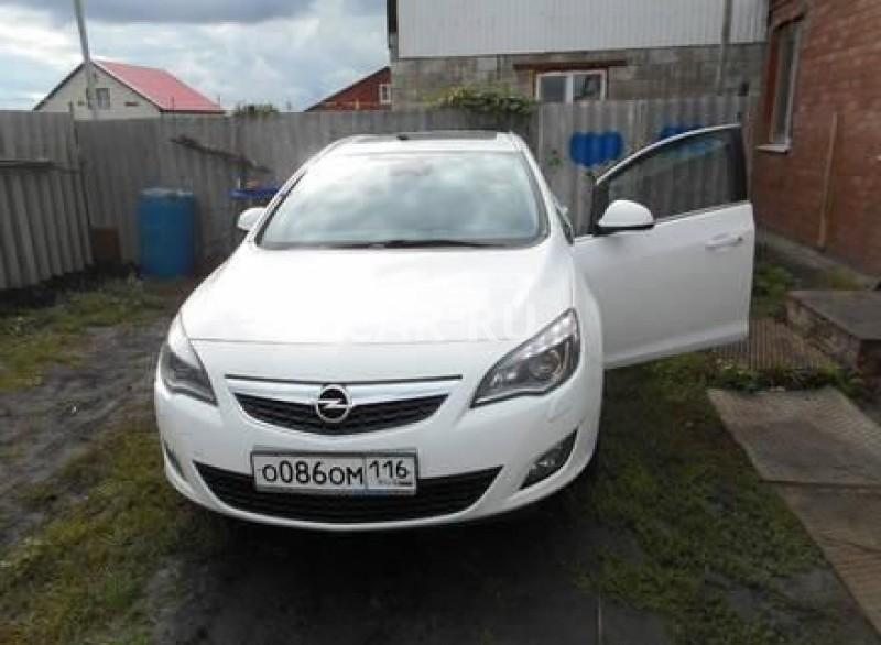 Opel Astra, Актюбинский