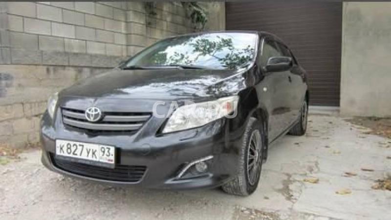 Toyota Corolla, Бахчисарай