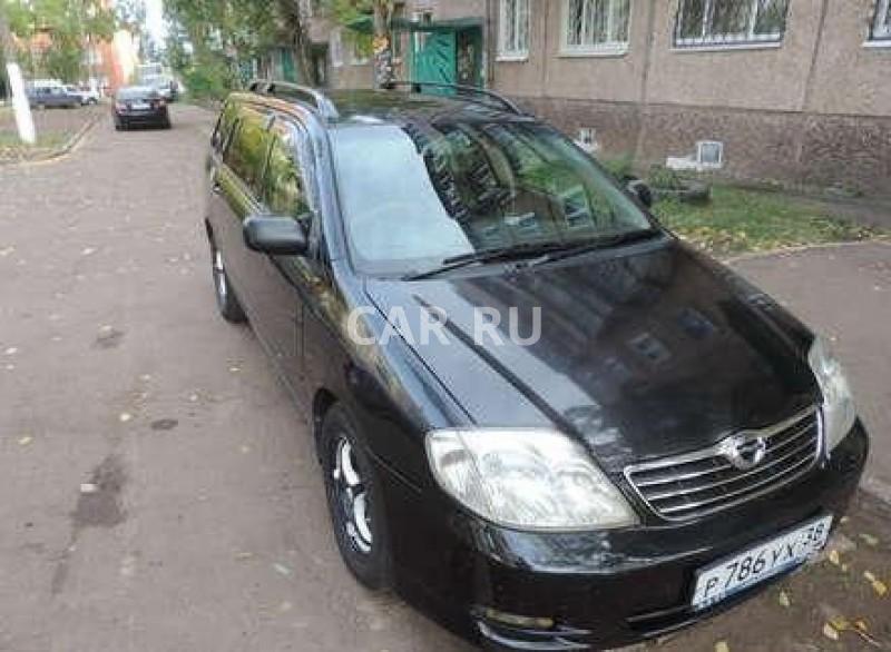 Toyota Corolla Fielder, Братск