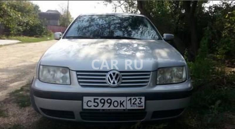 Volkswagen Bora, Анапа