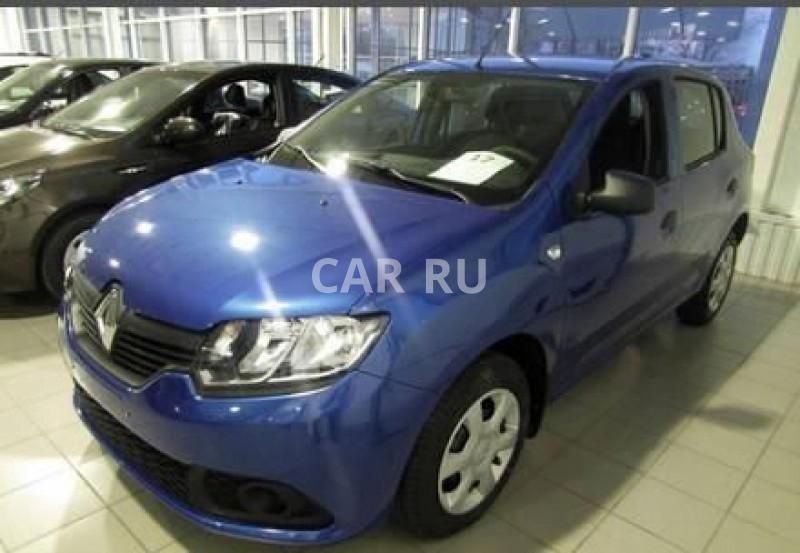 Renault Sandero, Барнаул