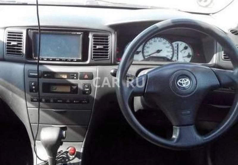 Toyota Allex, Александровское