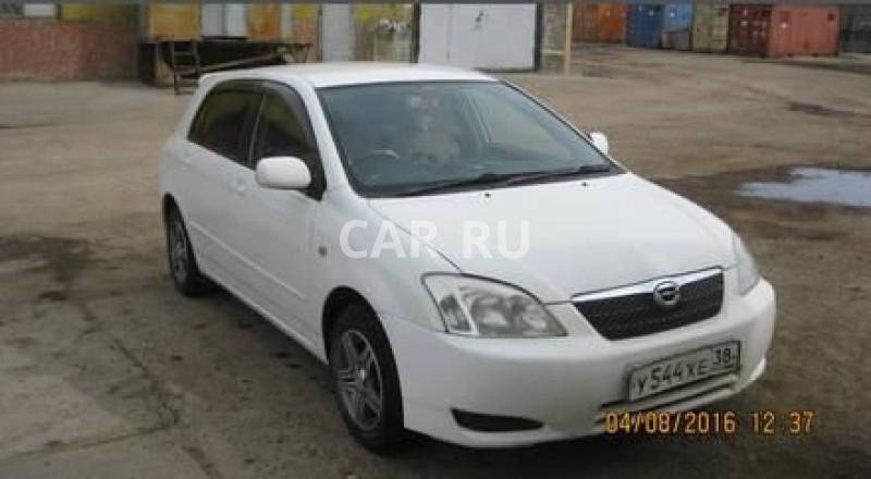 Toyota Corolla Runx, Братск