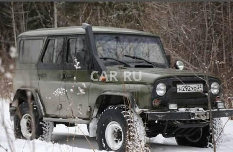 Уаз Hunter, Ачинск