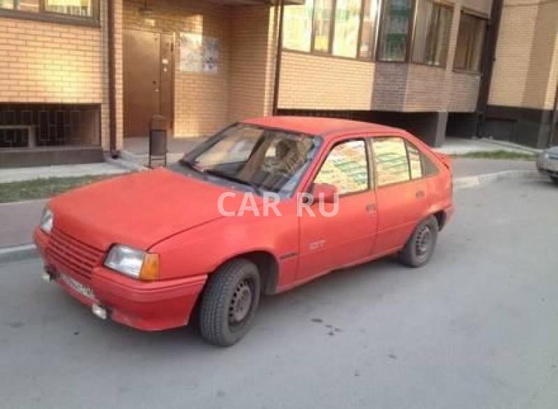 Opel Kadett, Абакан