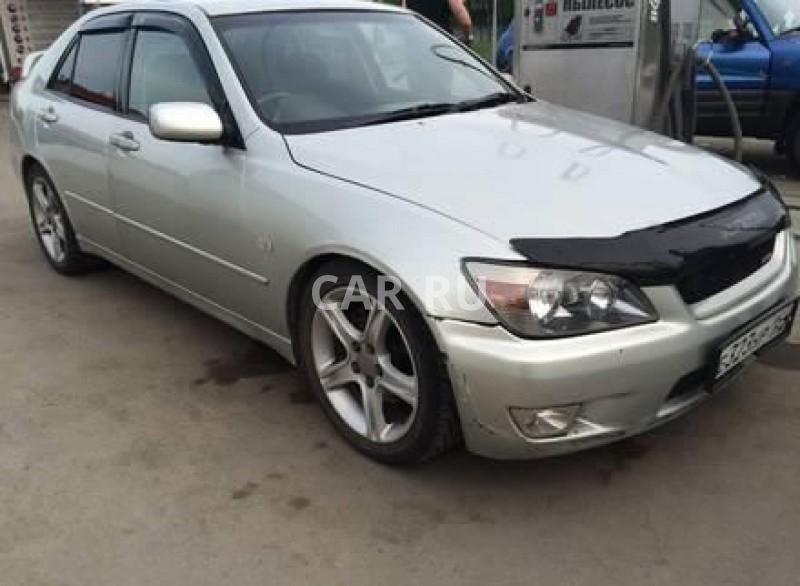 Toyota Altezza, Барнаул