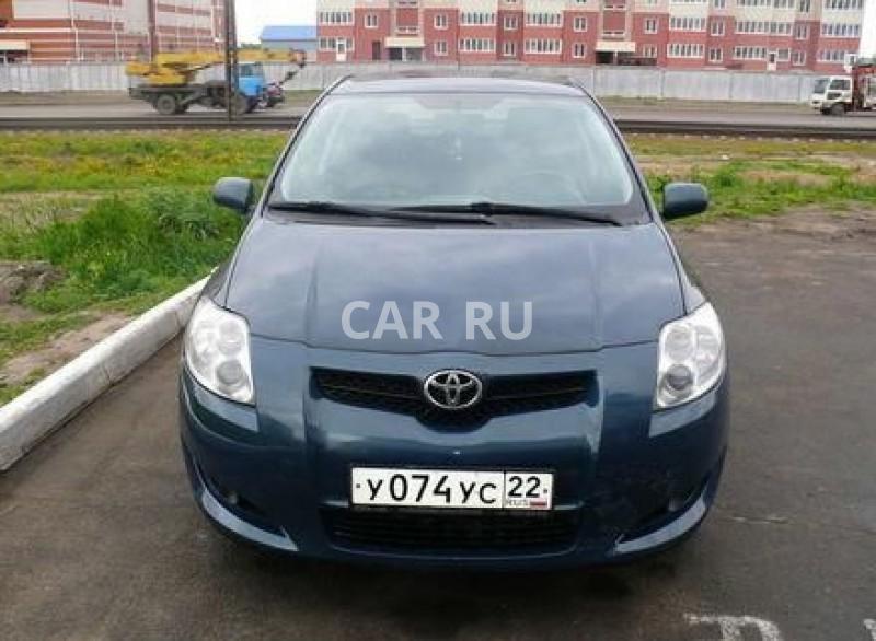 Toyota Auris, Барнаул