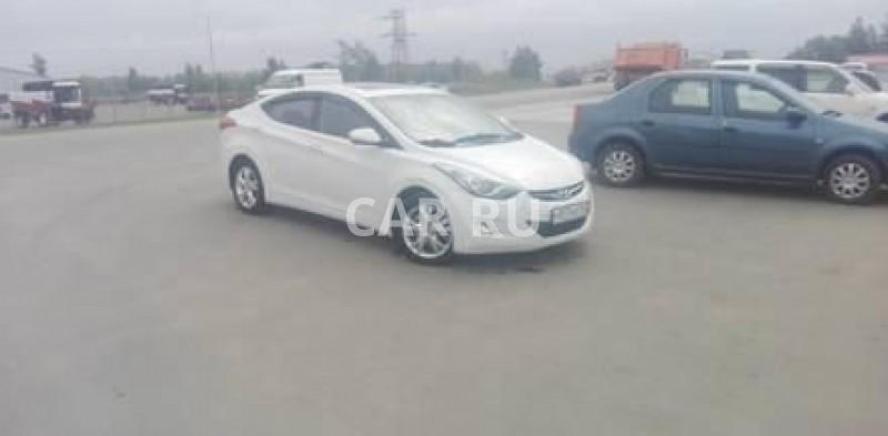Hyundai Avante, Барнаул