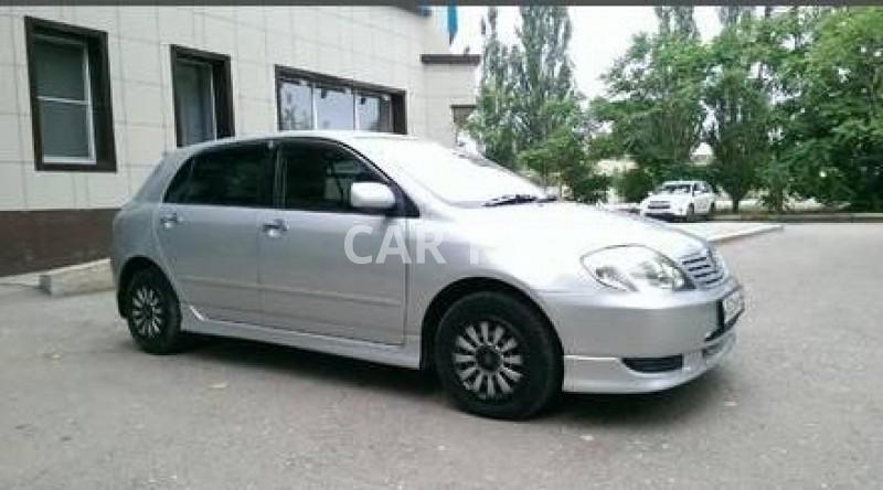 Toyota Allex, Астрахань
