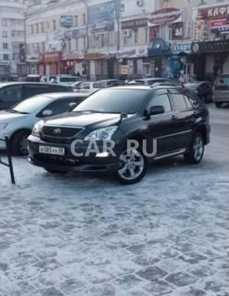 Toyota Harrier, Белогорск