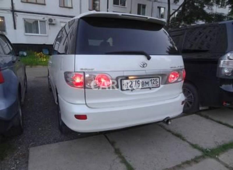 Toyota Estima, Арсеньев