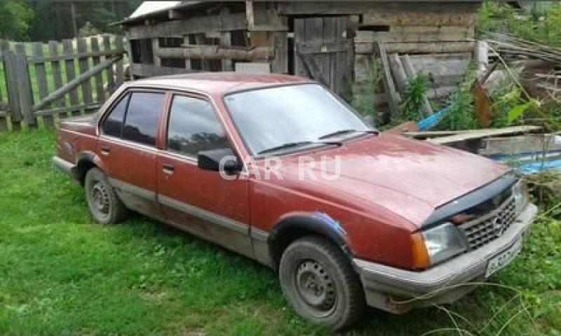 Opel Ascona, Барнаул
