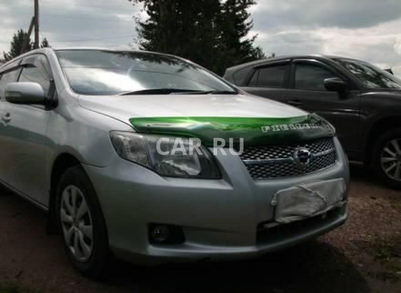 Toyota Corolla Fielder, Агинское