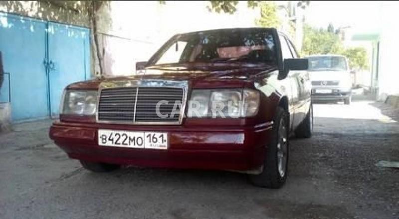 Mercedes E-Class, Алушта