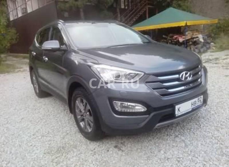 Hyundai Santa Fe, Алушта