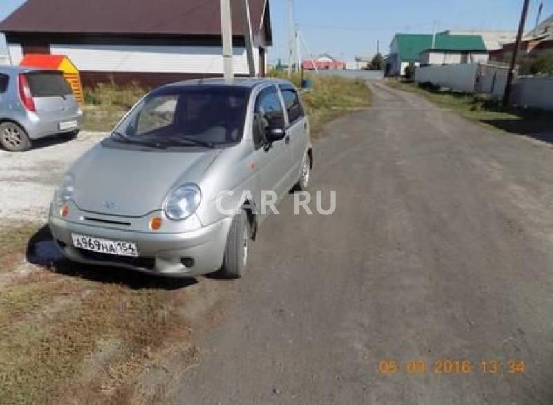 Daewoo Matiz, Барабинск
