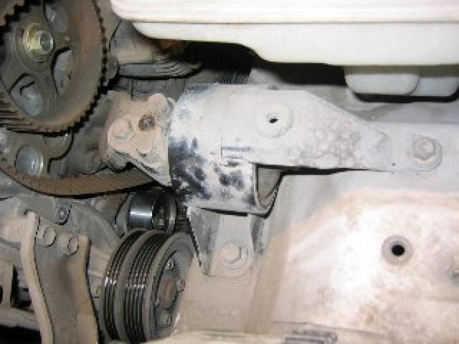 Замена ремня ГРМ двигателя 5А-FE