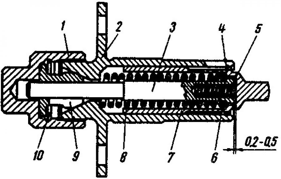 Натяжитель цепи ВАЗ 2101 до 2107